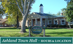 Ashland Town Hall - Hours and Location