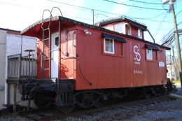 Red Caboose in Ashland
